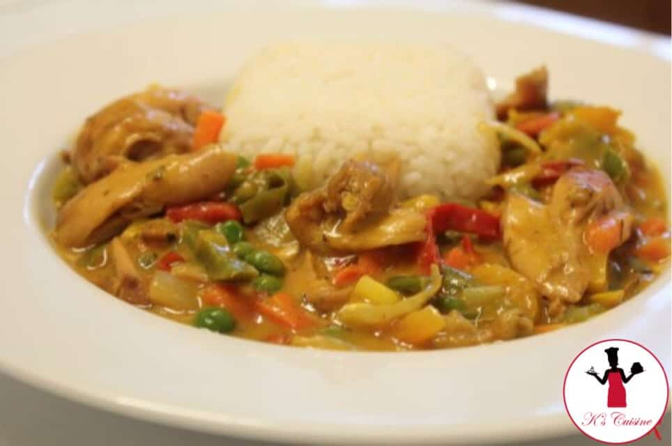 Vegetable Chicken Curry