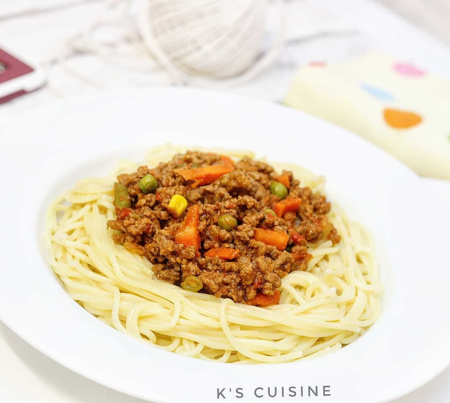 Minced Meat Sauce