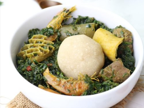 Eba food (How to make Eba) - K's Cuisine