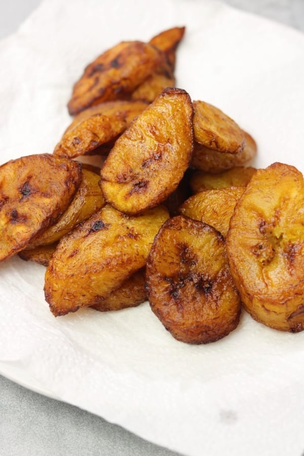 How To Fry Plantain Fried Plantain K S Cuisine